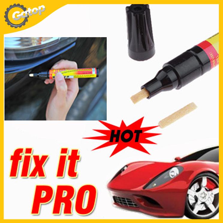 fix it pro clear car scratch repair remover pen simoniz clear coat applicator portable 2pcs free. Black Bedroom Furniture Sets. Home Design Ideas