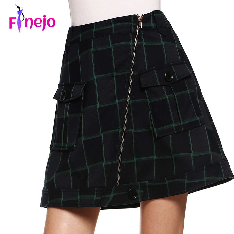 A Line Skirt Plus Size 37