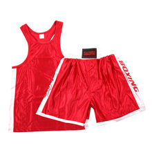 Детские и Мужские боксерские шорты MMA Muay Thai, штаны для кикбоксинга, Санда ушу, шорты для кунг-фу, боксерские костюмы(Китай)