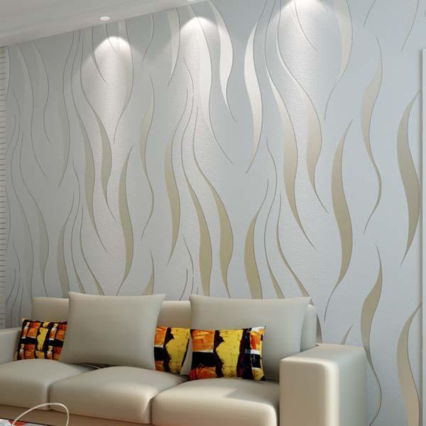 high quality modern 3d wallpaper damask textured wall paper wallcovering for living room bedroom. Black Bedroom Furniture Sets. Home Design Ideas