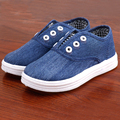2016 Toddlers Canvas Shoes Boys Girls Denim Breathable Fashion Casual Shoes Kids Korean Comfortable Shoes