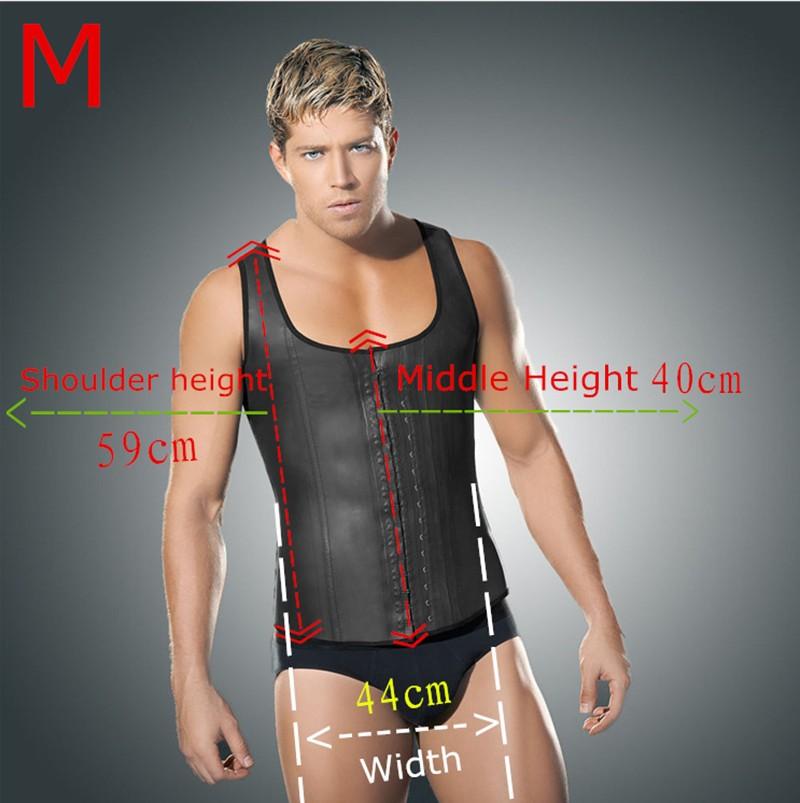 3672c937eb Wholesale-Plus Size Faja Latex Waist Trainer For Men Body Girdles ...