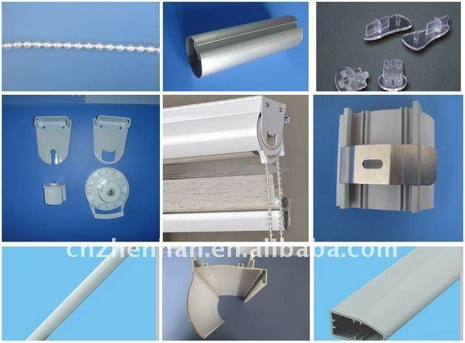 Plastic Zebra Blind End Cap For Bottom Rail Zebra Shade