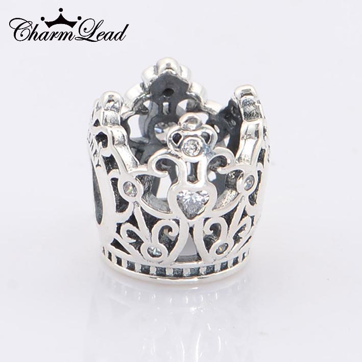 charm pandora couronne