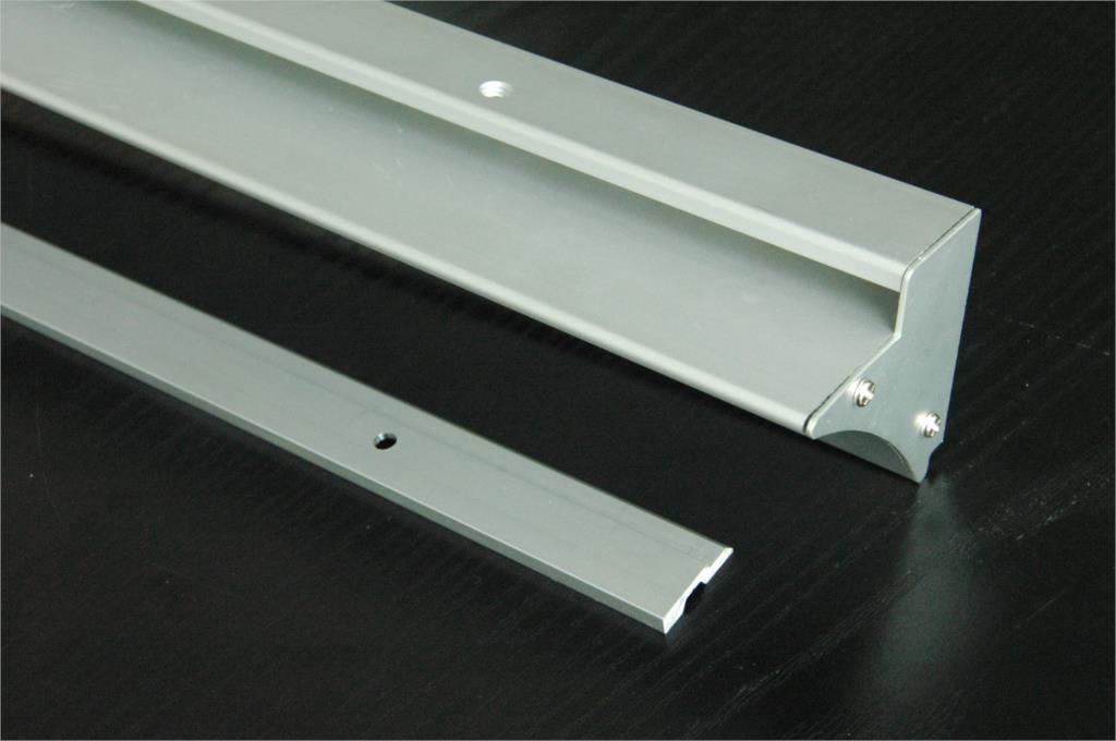 2015 mont en surface en aluminium led profil 50 m pour tag re en verre lumi re sans couvercle. Black Bedroom Furniture Sets. Home Design Ideas