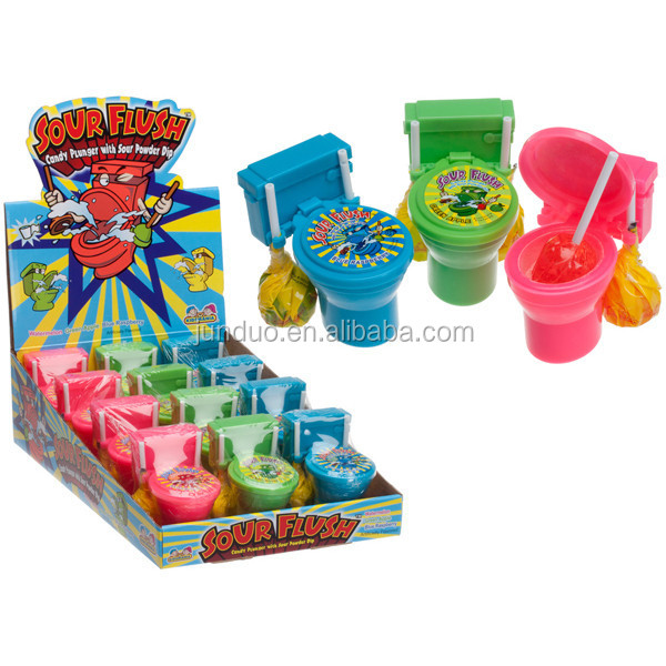 Toilet Bowl Sour Flush With Candy Plungers - Buy Candy Toy ...