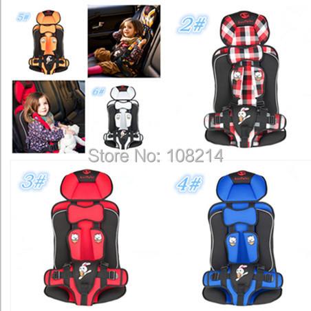 Высокое качество безопасное место для ребенка 2 - 12 лет портативный защиты детские дети автомобиль Satety сиденье 6 цветов для варианта бесплатная доставка