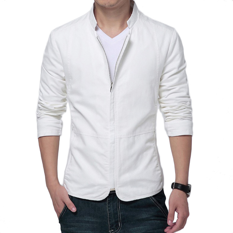 White Nylon Jackets 19