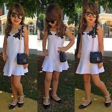 Kids Toddler Baby Girl Clothes White Lace font b Fancy b font Tutu font b Dress