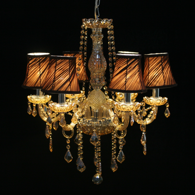 Free Shipping <font><b>Italian</b></font> Chandelier Crystal Modern Luminaire <font><b>Home</b></font> Lighting Fixture <font><b>Decor</b></font> with Lampshades C CCLD8009S D55cm H65cm
