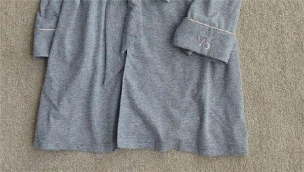 Бренд длинный халат эмуляции шелк мягкий домой халат Mix размер XS / S / M ночная рубашка для женщин кимоно осень зима
