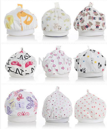 10pcs lot Hot sale baby caps for boys Girls newborn hats Infant Caps 0 8 months