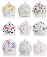 10pcs/lot Hot sale baby caps for boys Girls newborn hats Infant Caps 0-8 months Free Shipping