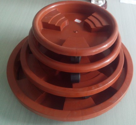 Plant Saucer With Wheels Plastic Flower Pot Saucer Plastic