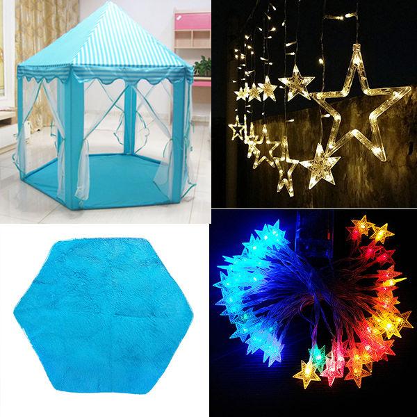 Детская палатка, игрушечный мяч, бассейн, девочка, принцесса, розовые палатки в форме замка, маленькие игровые домики для детей, портативная ...(Китай)