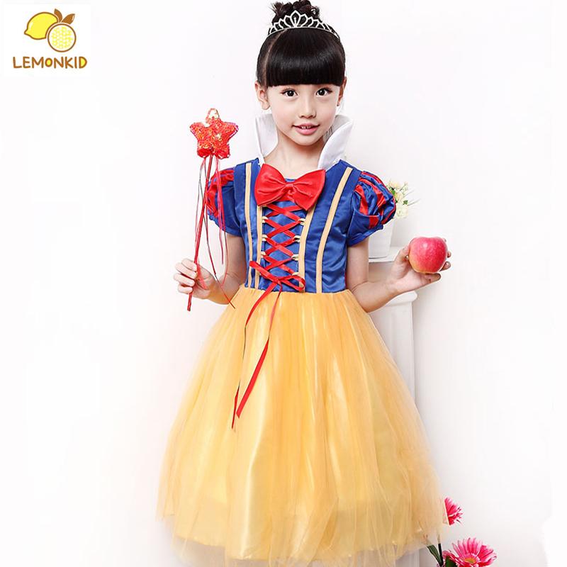 Kids Baby Girls font b Dresses b font Snow White Princess font b Dress b font