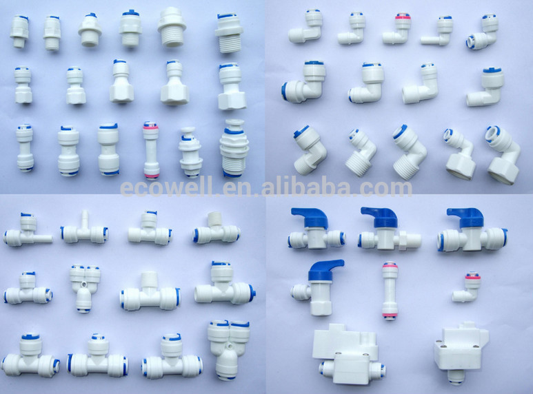 Ro Water Filter Connector,Quick Connector,Valve,Faucet