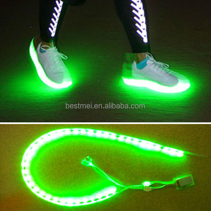 Running Shoes With Led Light Up Soles