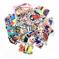 50PCS Stickers Mix Style funny adult Cartoon Decal Fridge Doodle Snowboard Luggage Decor Brand Car Bike