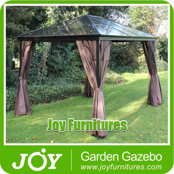 polycarbonate roof gazebo buy polycarbonate roof gazebo metal roof gazebo 3x4m sunshade. Black Bedroom Furniture Sets. Home Design Ideas