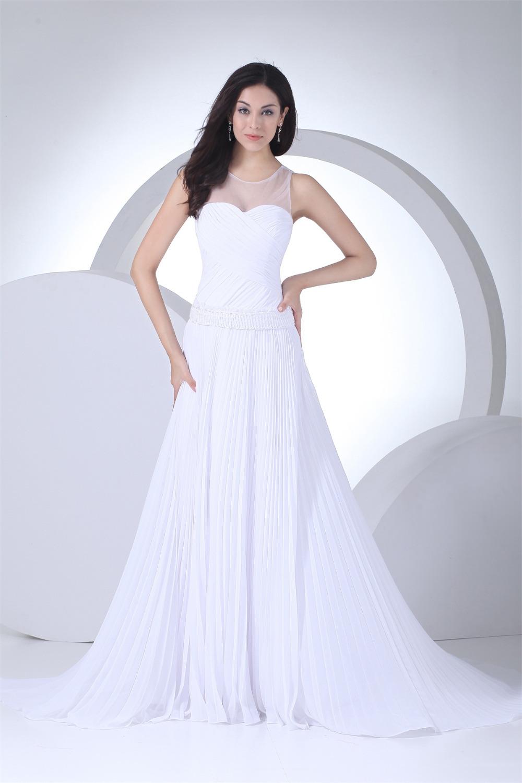Elegant Summer Beach Wedding Dress Vintage Style Dress
