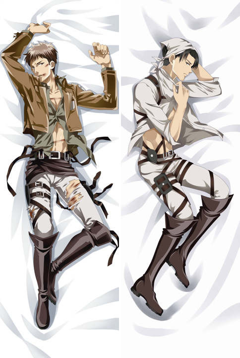 Wholesale Pillow Case Attack On Titan Anime Characters