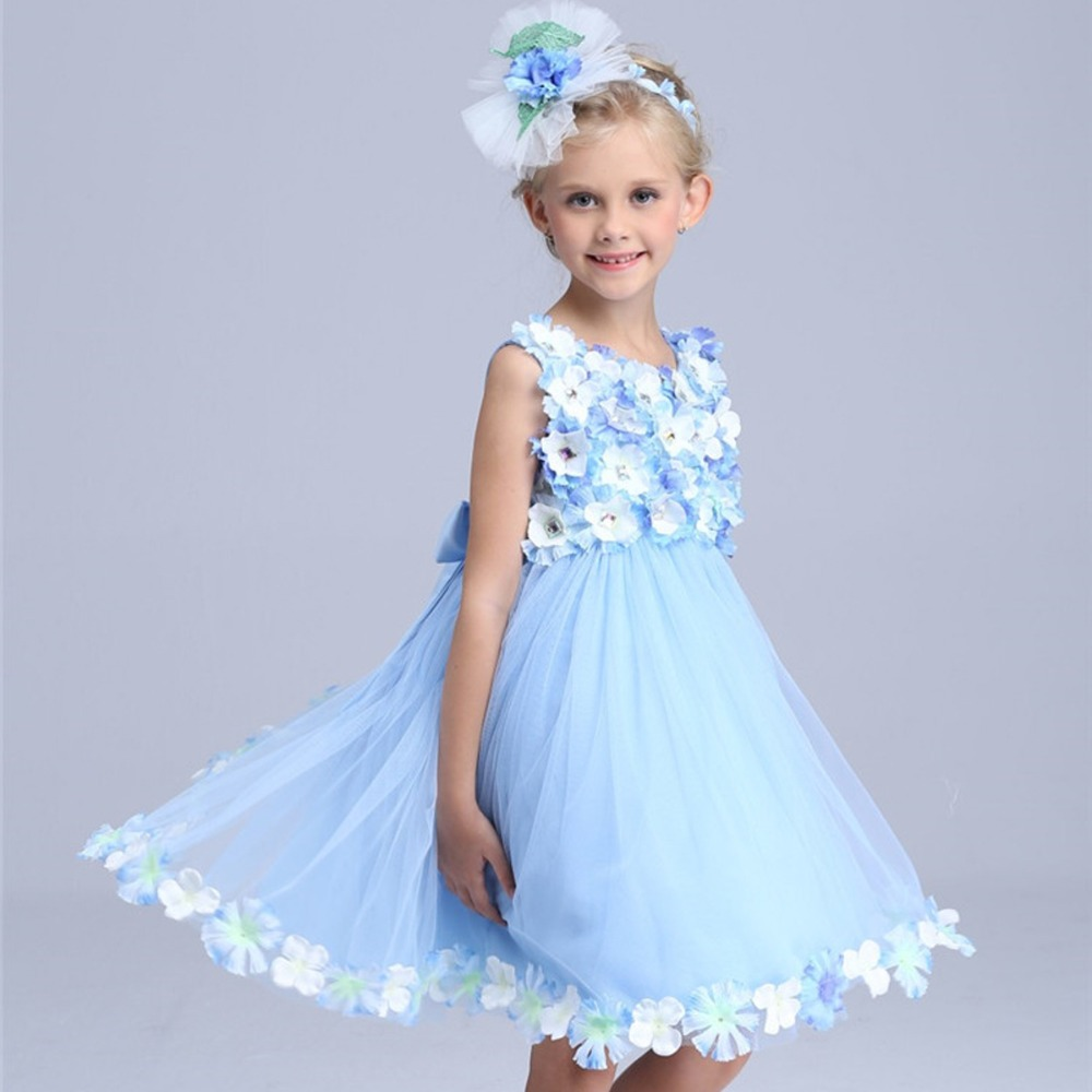 Flower Fairy princess costume girls summer dress 2016 ...  Flower Fairy pr...