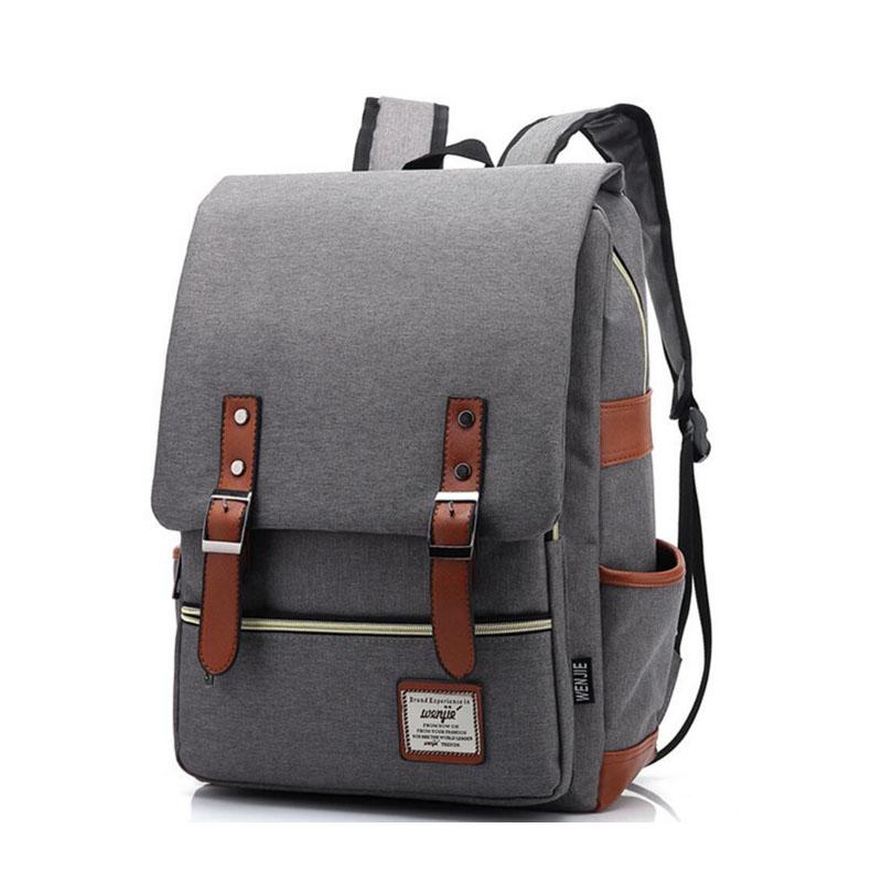 Dinaseuk Vintage Backpack College Shoulder Bag Daypacks For Laptop ... 07c6a6cd6cb99