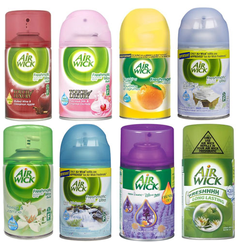 Feb 26,  · Does the Glade automatic spray refill fit in an Air Wick automatic dispenser? We have an Air Wick brand automatic dispenser and we need refills for it, but we have a coupon for the Glade brand refills. Does anyone know if they are interchangeable?Status: Resolved.