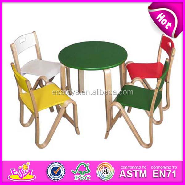 bunte h lzerne lernen tisch und stuhl f r kinder kindergarten tisch und stuhl gesetzt kinder. Black Bedroom Furniture Sets. Home Design Ideas