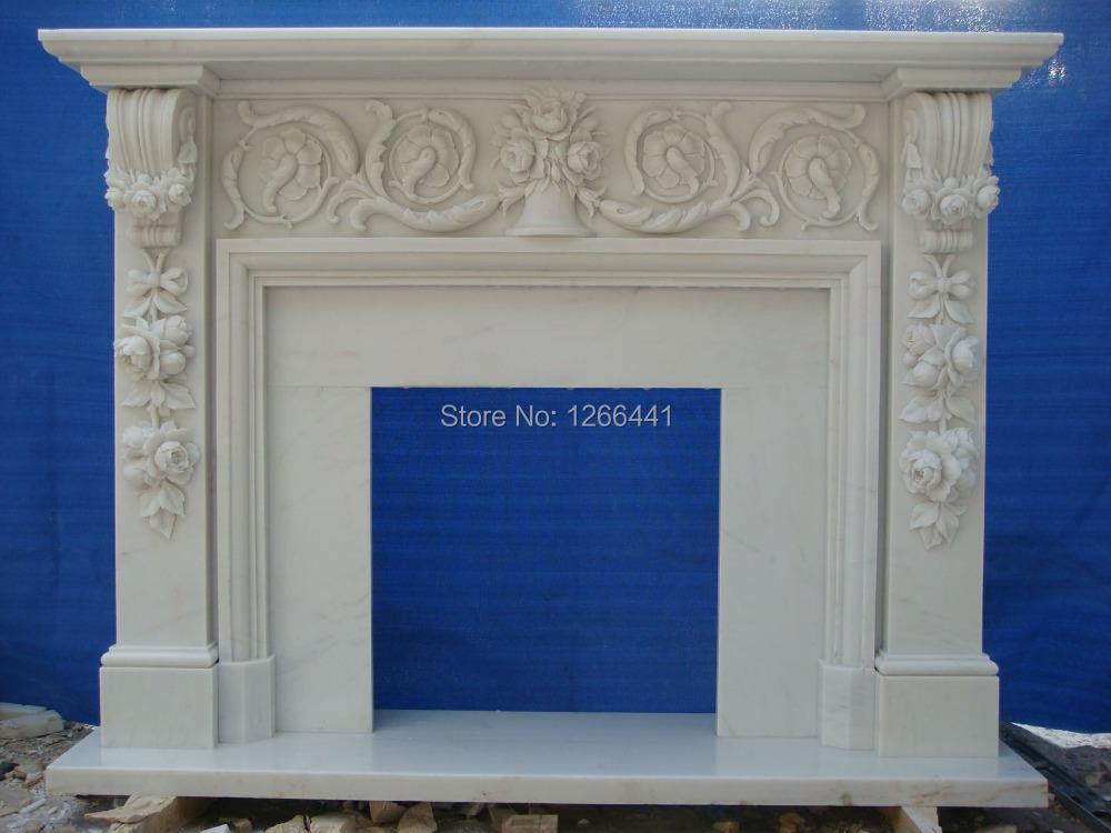 manteaux de chemin e en marbre achetez des lots petit. Black Bedroom Furniture Sets. Home Design Ideas