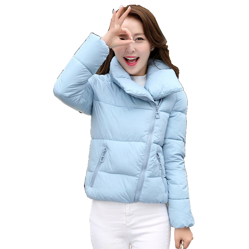 Plus Size New font b Winter b font Cotton Jacket Women Korea Warm Short Jackets Coat