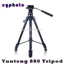 New Photographic Equipment Yunteng VCT-880 Aluminium Tripod for Canon & Nikon Micro Film SLR Camera Tripod
