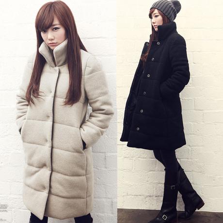 Зима куртка хлопок, ватные куртка женское женское пуховик приталенный парки дамы пальто S-XXL