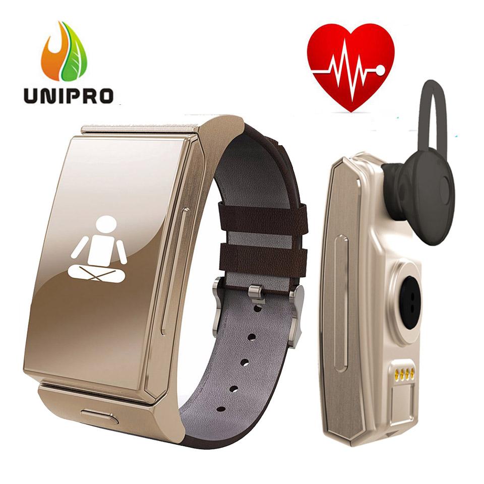 Original Uwatch U20 Umini MTK2502 Smart Bracelet With Heart Rate Monitor