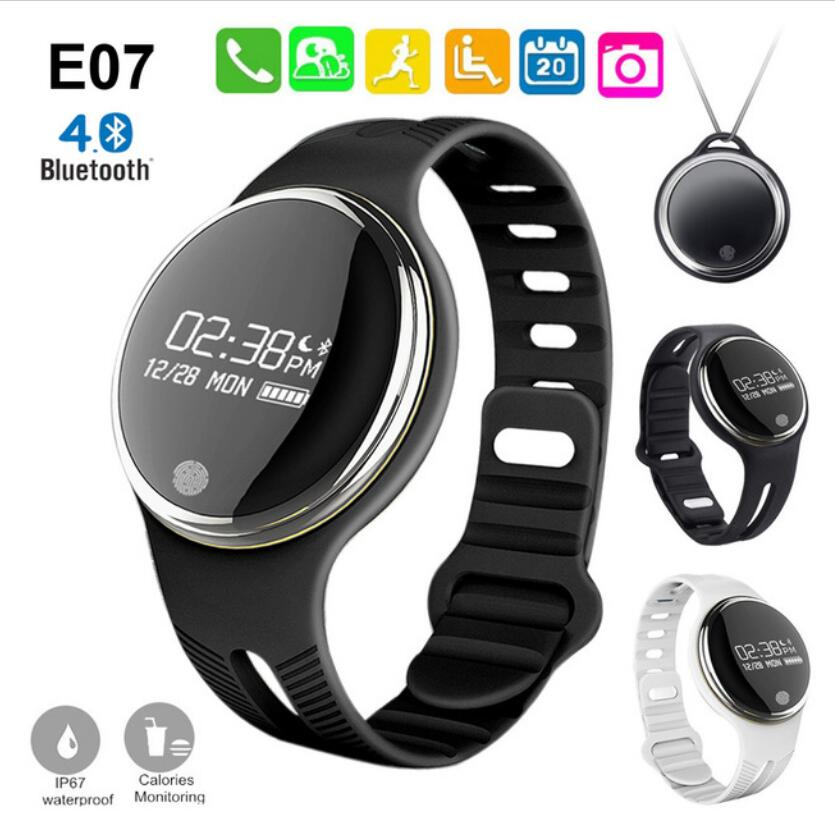 Excelvan Smart Wristband E07 Smart Band Bracelet Wristband Fitness Tracker Smartband For Ios Android Sports Bracelet