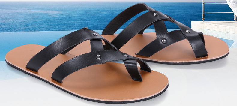 2a7fa9167e Summer Men Sandals 2019 Mens Gladiator Sandal Flat Heel Breathable Shoes  Casual Mens Shoes Beach Sandal Zapatos Masculino. SIZE. 01 02 03 06 08