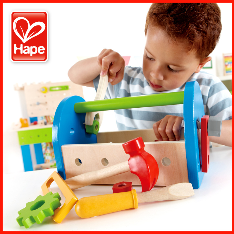 2 3 Year Old Toys Hape Tool Box Male Child Educational Boy Birthday