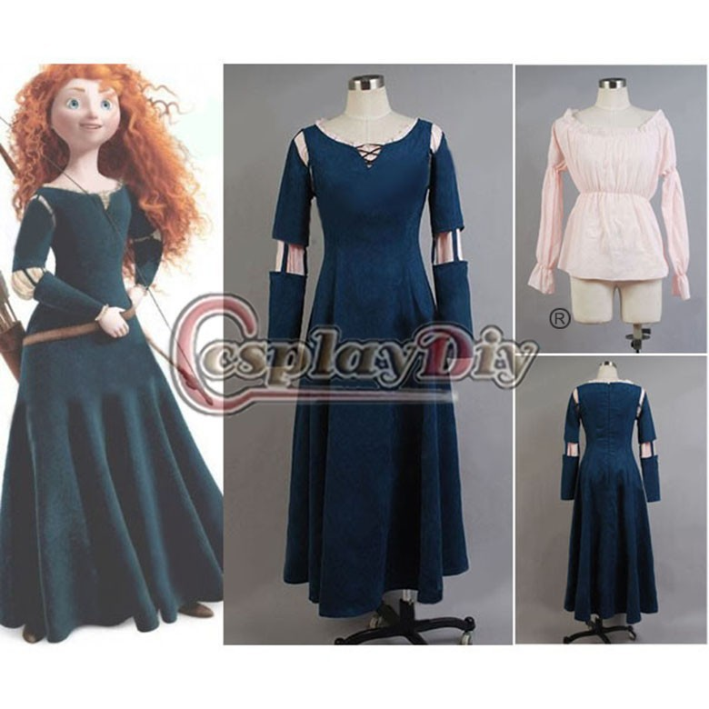 Princess Merida Costume Promotion-Shop for Promotional