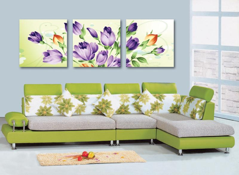 3 Pcs (No Frame) beauty rose Wall Art Picture Modern Home Decor Living Room Canvas Print Painting Wall picture SZ-O-165