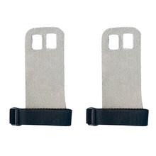 1 пара S M L рукоятка из синтетической кожи защита для гимнастики защита ладоней перчатки для поднятия тяги(China)