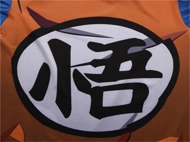 Anime Dragon Ball Z Super Saiyan Vegeta Goku T Shirt Men