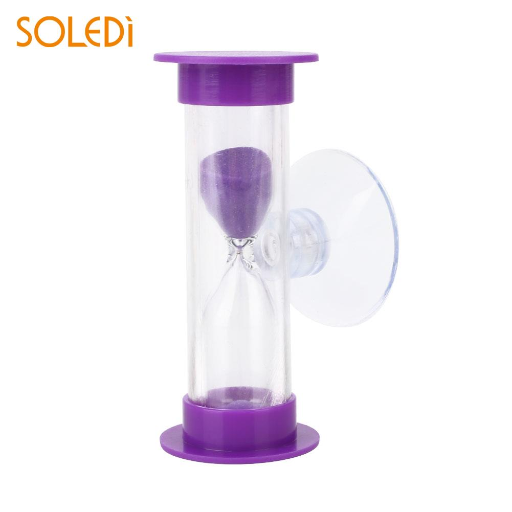 Abs Sand Clock Toy Bathroom Home Practical Convenient Accessories Bathing Tool Gadget Shower Timer Colorful Hourglass Excellent In Cushion Effect Bath Hardware Sets