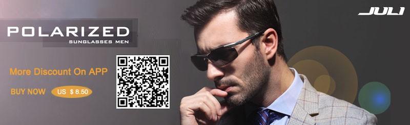 Fashion sunglasses men polarized coating sunglass driving.