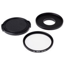 New Accessory 52mm UV Filter Lens Kit with Cap Protector for Xiaomi Xiaoyi Yi Action Sport Camera