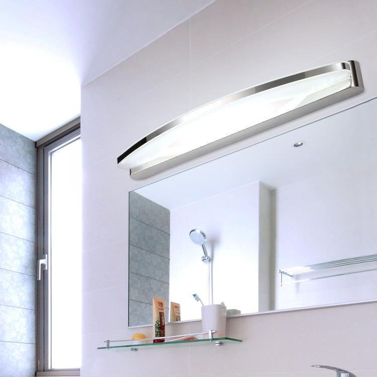 Bathroom Vanity Mirrors And Lights: Pre-modern-minimalist-LED-mirror-light-water-fog