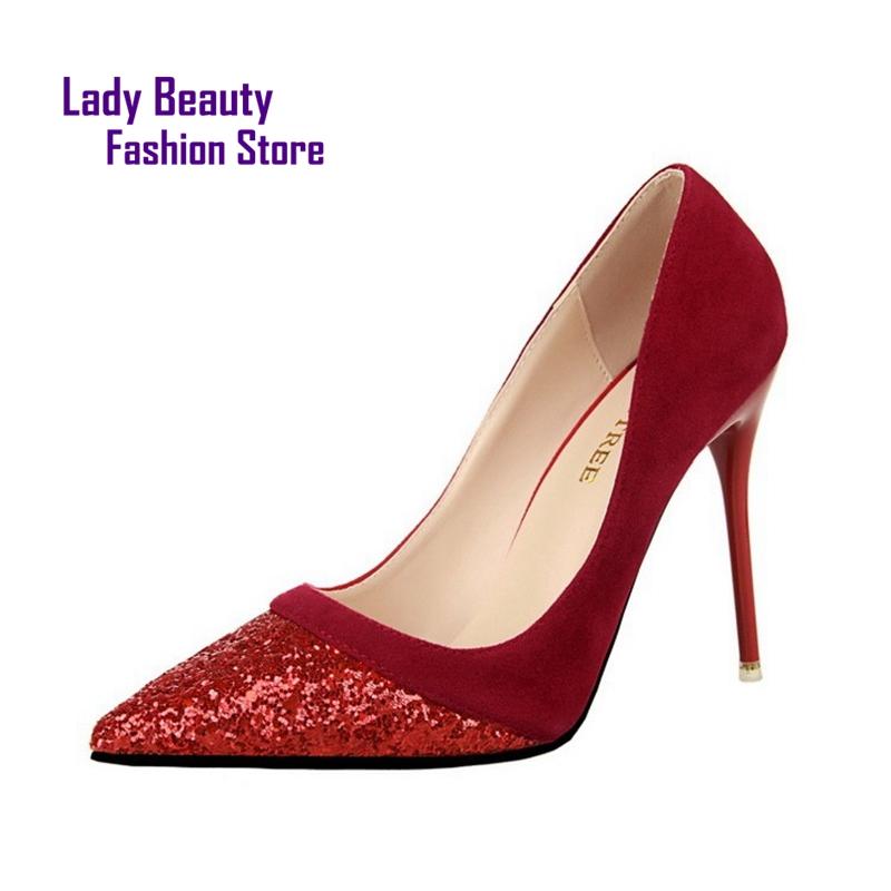 marque chaussure femme avec semelle rouge