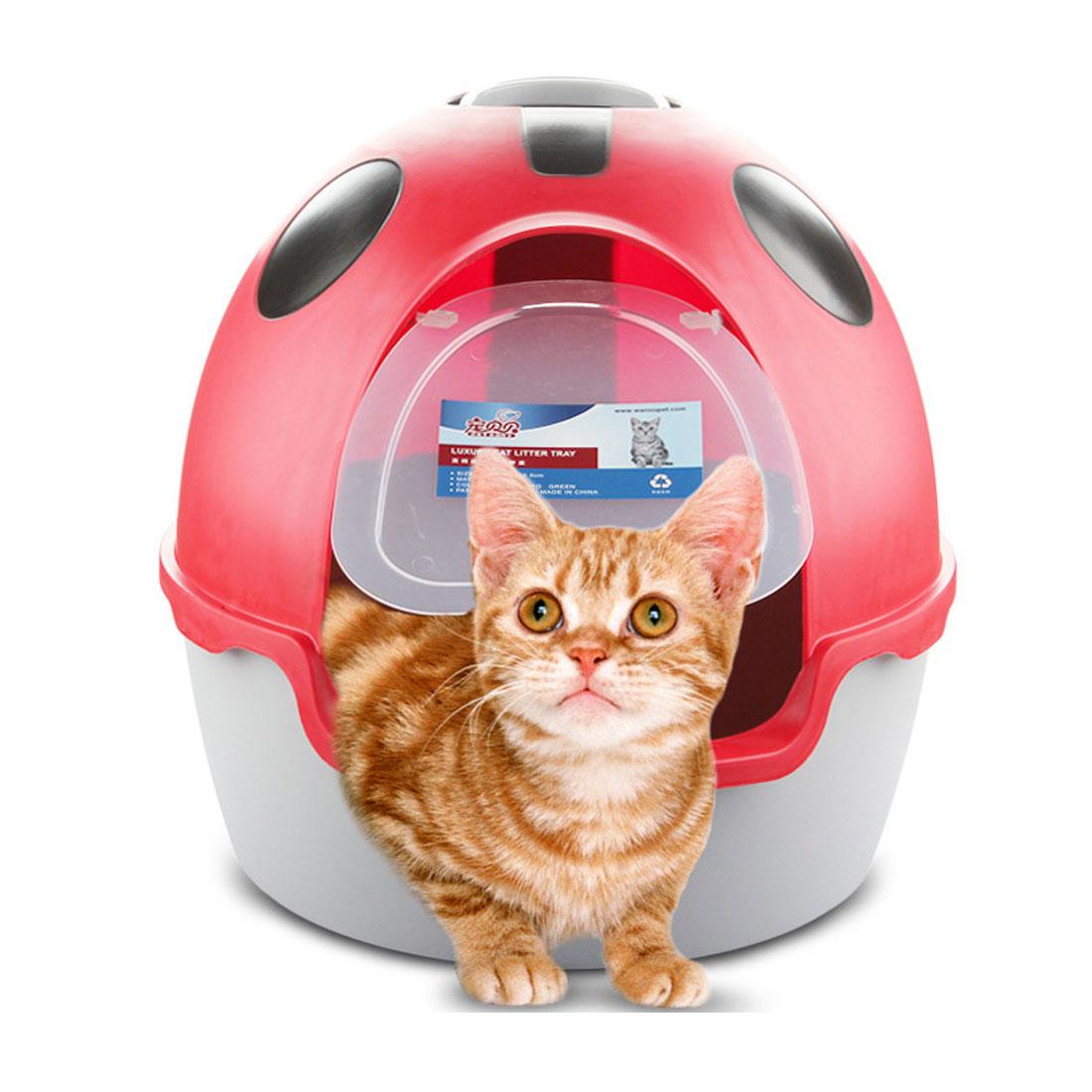 Лучший Подарок для Кошек 2016 Новый Топ Высокое Качество Кошки туалет полностью Закрытый Ящик Для Мусора Большие Кошка Горшок для Домашних Животных 3 Цвета Pet-расходные материалы