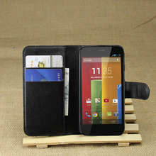 Luxury Flip Leather Stand Wallet Card Pocket Holder Pouch Case Cover Shell Skin For Motorola Moto G 1st Gen X1032  XT937C XT1028