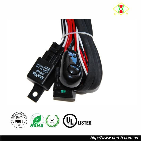 12 Volt Relay With Wiring Harness And Socket